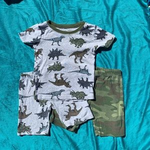 Carters 3 piece pajama set